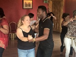 Salsa North with Rohan Brown at Tulloch Castle, Dingwall, September 2014